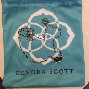 black kendra scott necklace